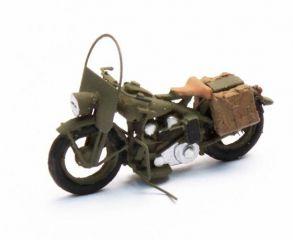 Artitec-387.29 H0 Motorrad US Liberator mit Beiwagen